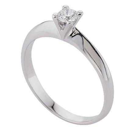 anello donna in oro con diamante fedi matrimoniali in oro bianco con ...